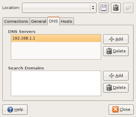 DNS-setting
