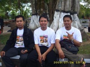 with Kang Gajah dan Kang Novi
