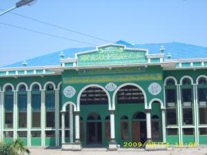 Gedung Perpus + GOR Ponpes Al-Hikmah 2