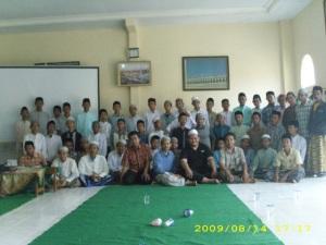Dengan peserta ikhwan
