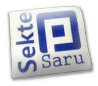 Badge Sekte Saru