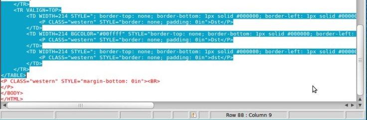 menyisipkan tabel di wordpress dengan openoffice word 3