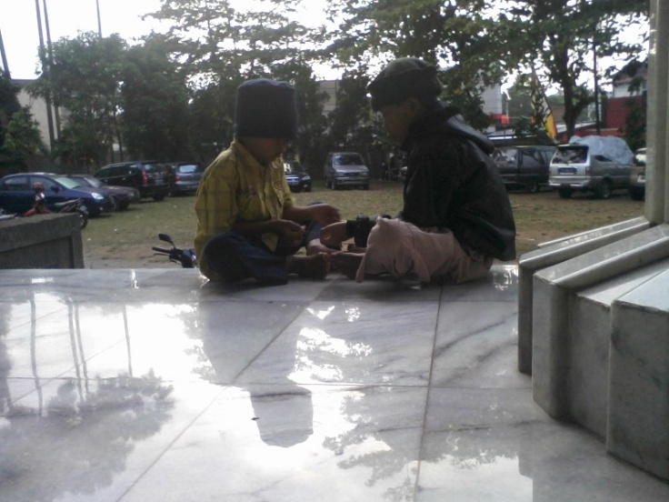 peserta cilik itikaf Masjid Fatimatuzzahra Purwokerto
