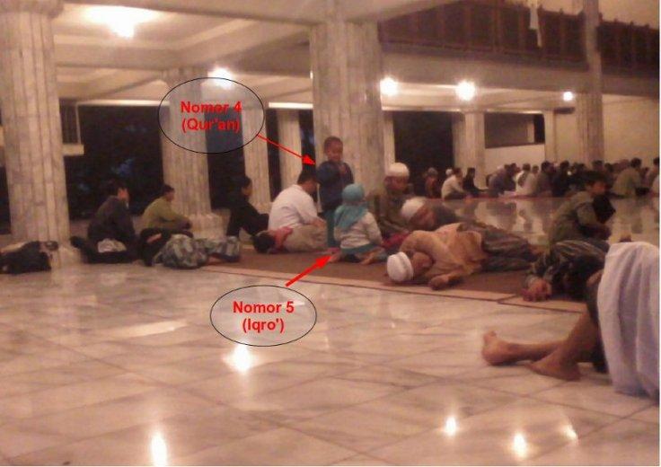 peserta Itikaf Masjid Fatimatuzzahra Purwokerto