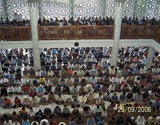Sholat Jumat  Masjid Fatimatuzzahra Purwokerto