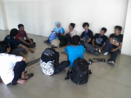 Forum di luar seminar Blogger Nusantara
