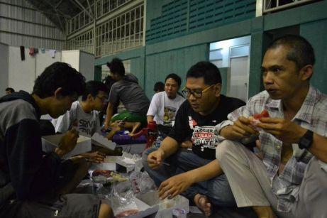 Makan di Camp Blogger Nusantara