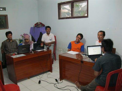 desa mandiri belajar bersama di desa Kutaliman, Banyumas