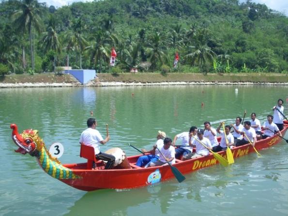 tim perahu naga desa membangun banyumas