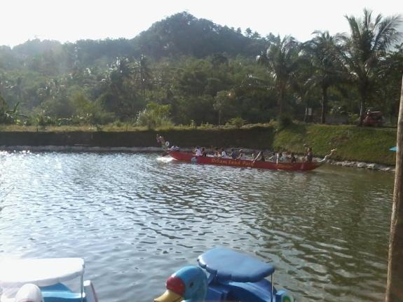perahu naga dreamland,desa pancasan,ajibarang,banyumas