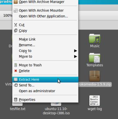 cara install cms lokomedia di localhost linux mint