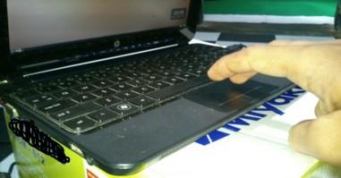 klik kanan hp 210 di linux mint dan ubuntu