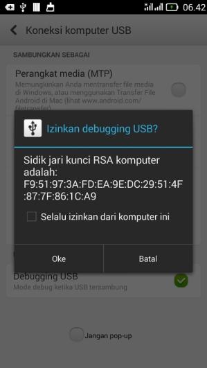 install android adb di manjaro linux