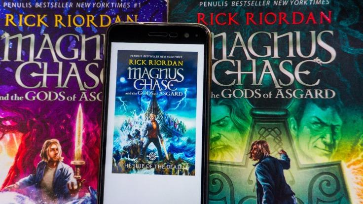 muslimah di kisah magnus chase and the gods of asgard